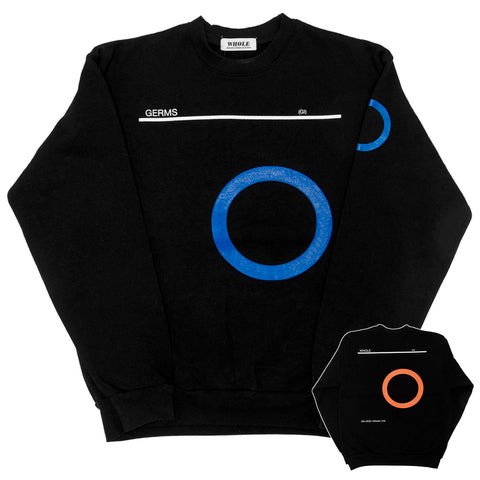 GERMS (GI) black - sweatshirt