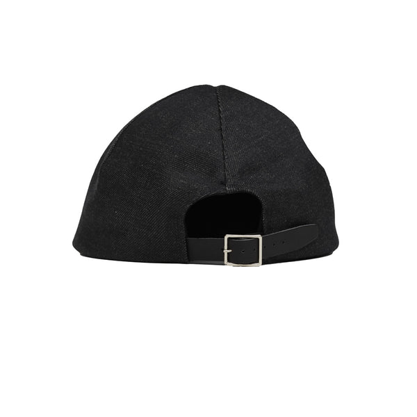 jean jeanie raw denim cap
