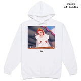 No. Still NO (Saint Hoax COLLAB) white hoodie