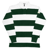 STRIPED RUGBY (green/white)