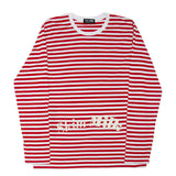Skim Milk Stripes (red/white)