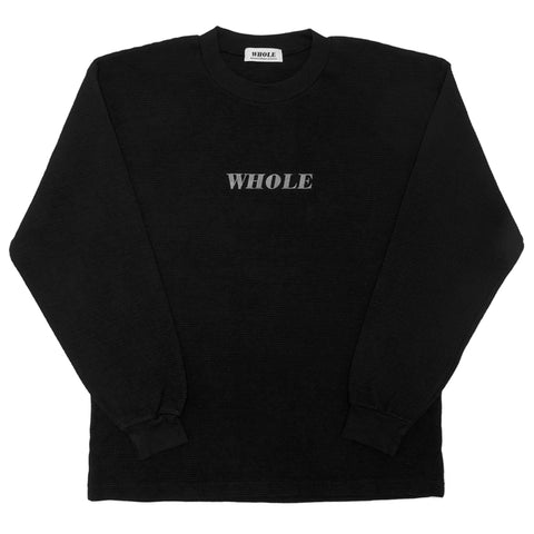 THERMAL LOGO LONG SLEEVE (black)