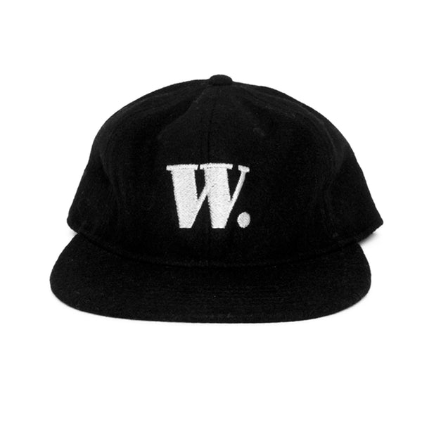 W. wool cap (black)