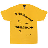 WHAT HAPPENED TO THE UNDERGROUND?