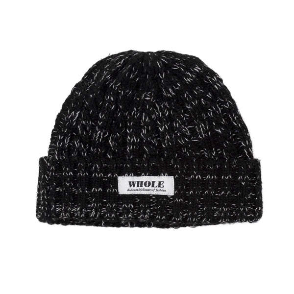 WHOLE beanie (marled black)
