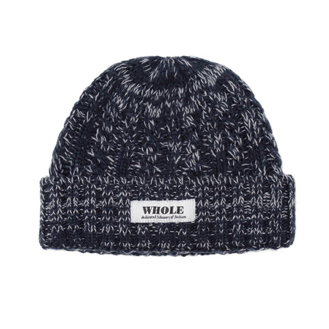 WHOLE beanie (marled navy)