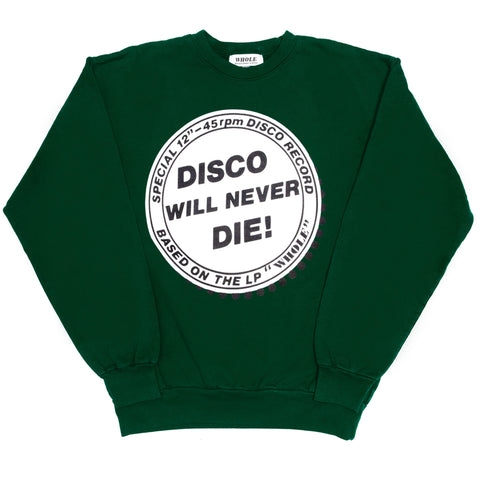 Disco will never die sweater