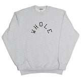 PATCHWORK LOGO SWEATER (heather)