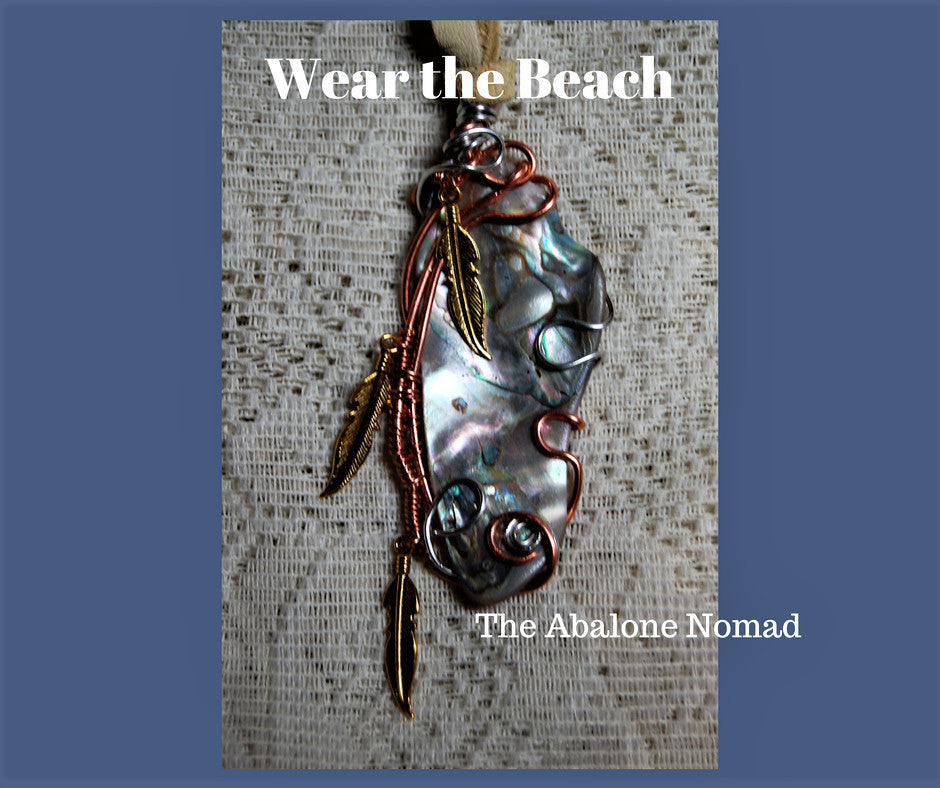 Wire Wrapped Abalone