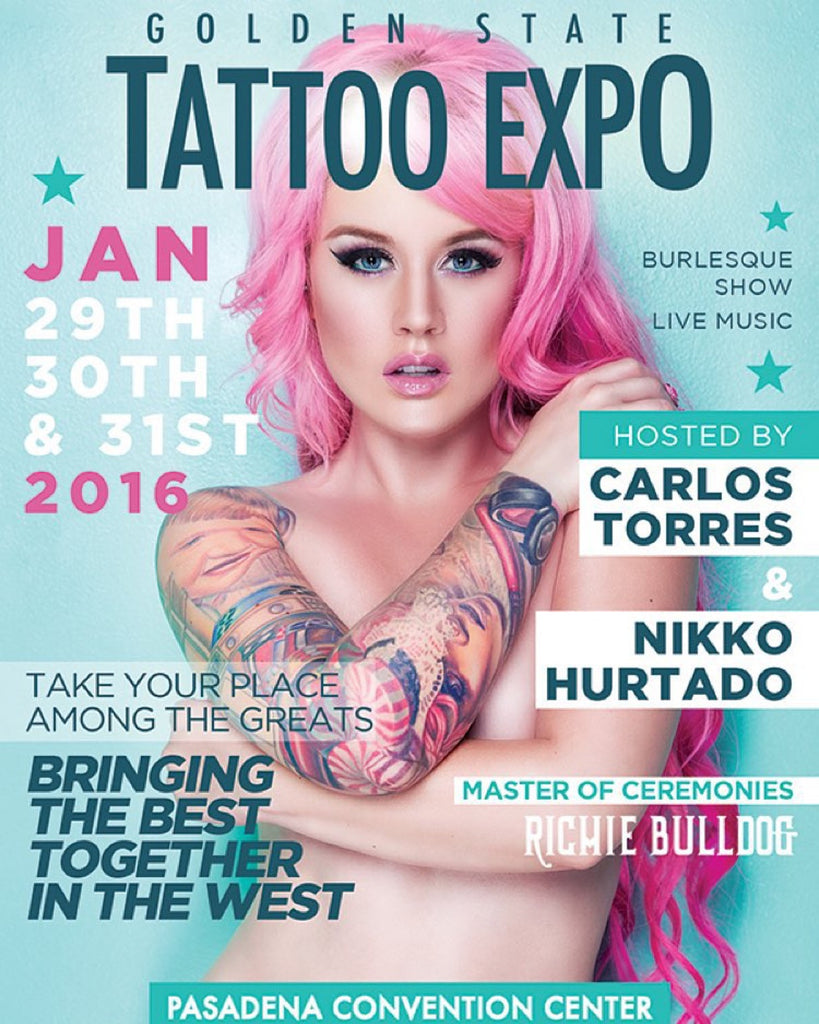 Golden State Tattoo Expo Photo Recap!