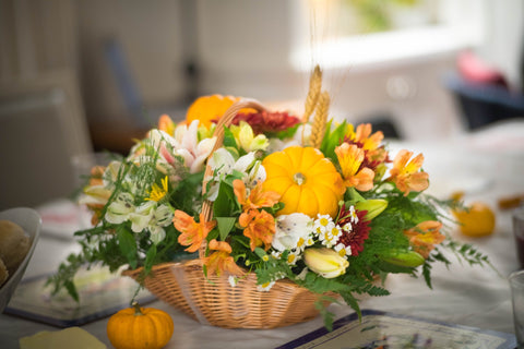 Thanksgiving Floral Arrangement