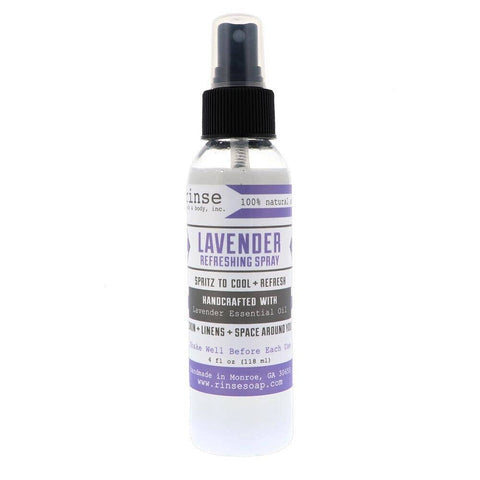 Rinse Bath Body Inc - Refreshing Spray - Lavender