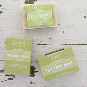 Rinse Bath Body Inc - Soap - Tea Tree Mint