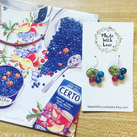 Berry Earrings