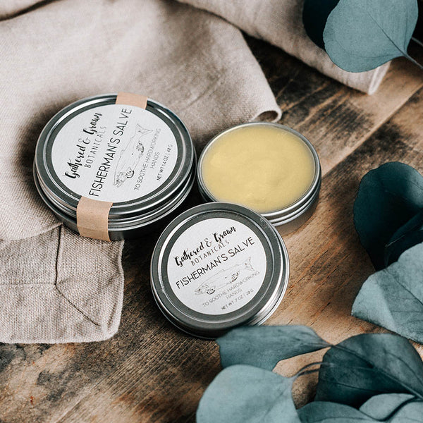 Gathered and Grown Botanicals - .7oz Fisherman's Salve
