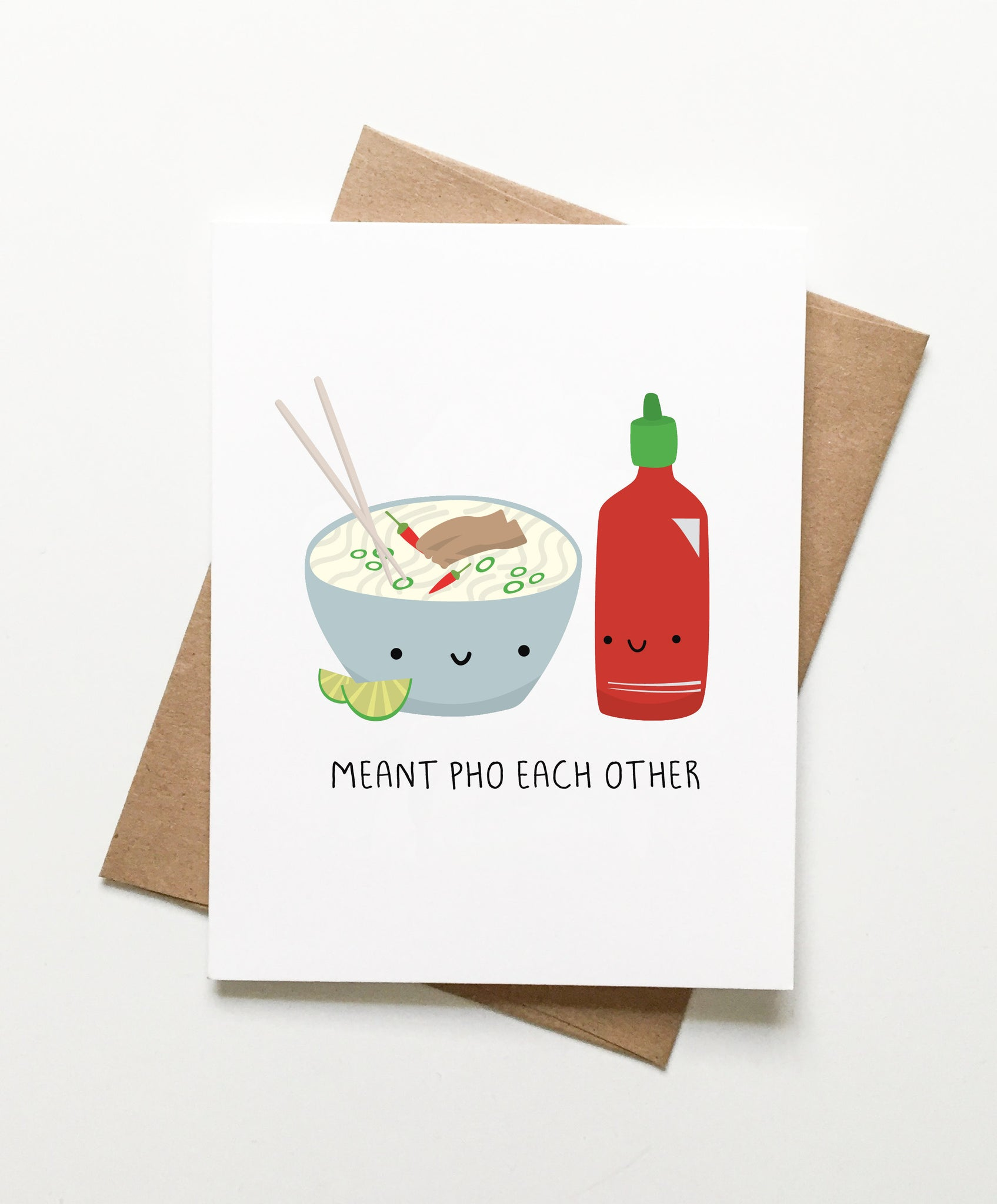 Le Trango Studios - Meant Pho Each Other Card