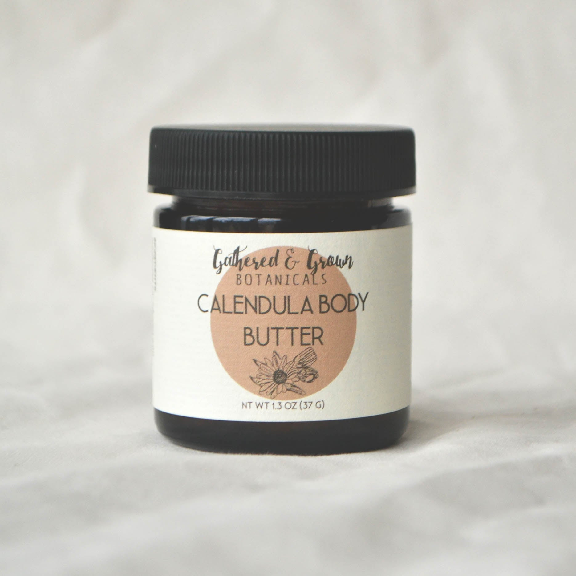Gathered and Grown Botanicals - 1.3oz Calendula Body Butter
