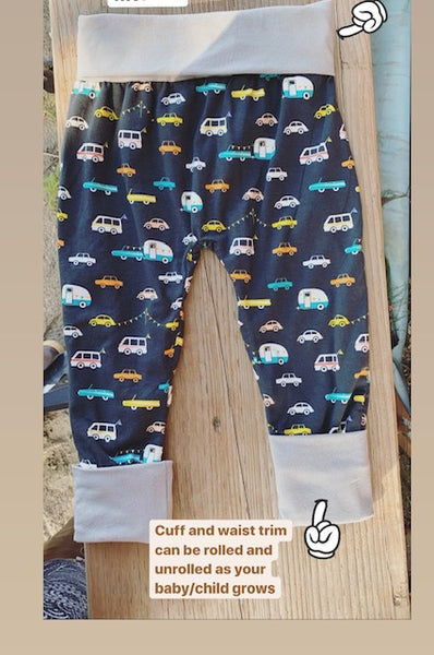Be Wild Foxes Grow-with-me Pants
