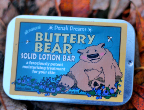 Buttery Bear Lotion Bar