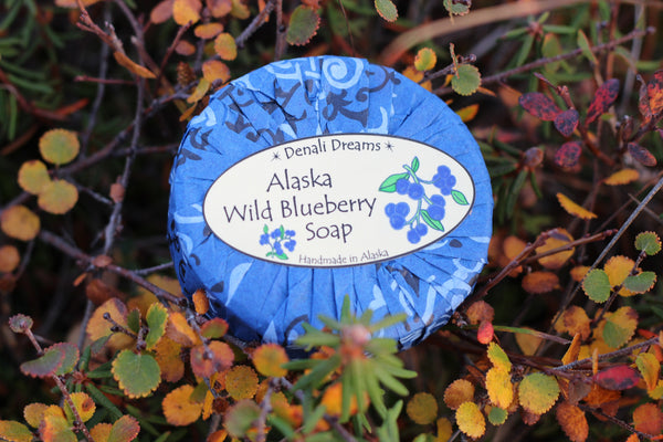 Alaska Wild Blueberry Soap