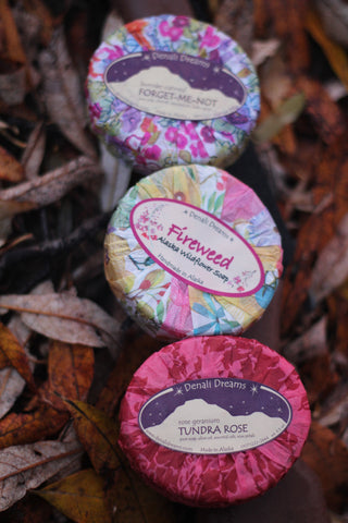 Alaska Wildflower Soaps Pack