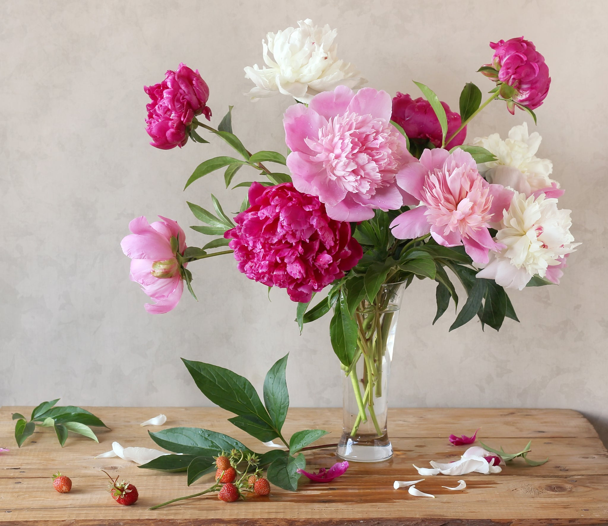 Peony and Mixed Bouquet