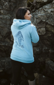 Summer Lightweight AK Mermaid Triblend Zipped Hoody