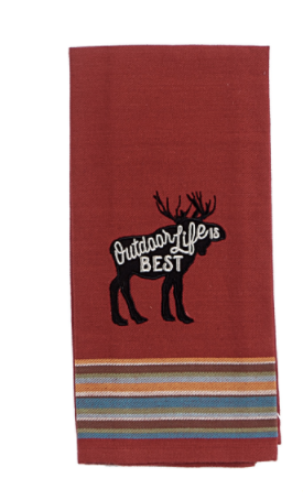 Moose Tea Towel
