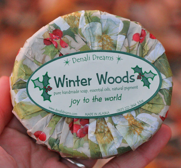 Winter Wood Soap
