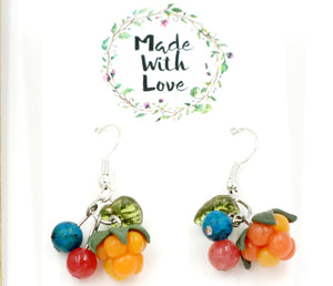 Mixed Berry Earrings