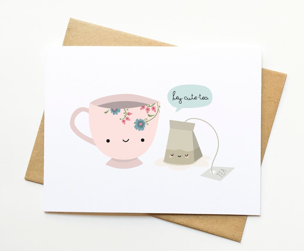 Le Trango Studios - Cute - Tea Card