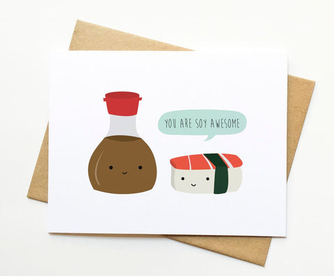 Le Trango Studios - Soy Awesome Card