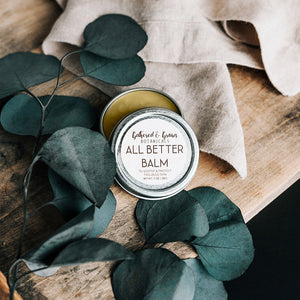 Gathered and Grown Botanicals - 1.4oz All Better Balm