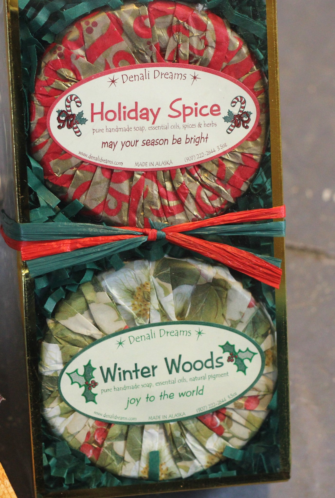 Christmas Soap Pack