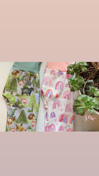 Animals Grow-with-me Pants