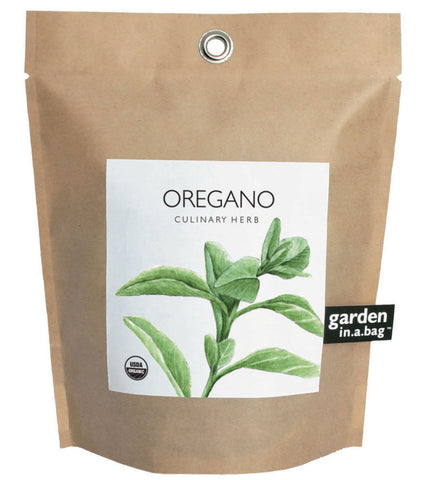Oregano Garden in a Bag Grow Kit