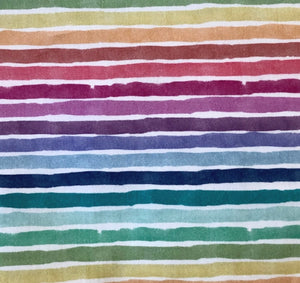 Face Masks, Rainbow Stripes , poplin cotton