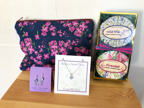 """Alaska Wildflowers"" Gift Set"