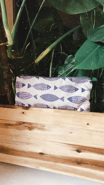 Fish Zipper Pouch