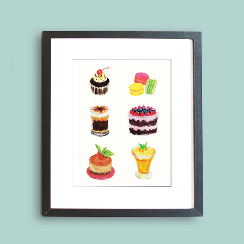 Sweet Treats Art Print