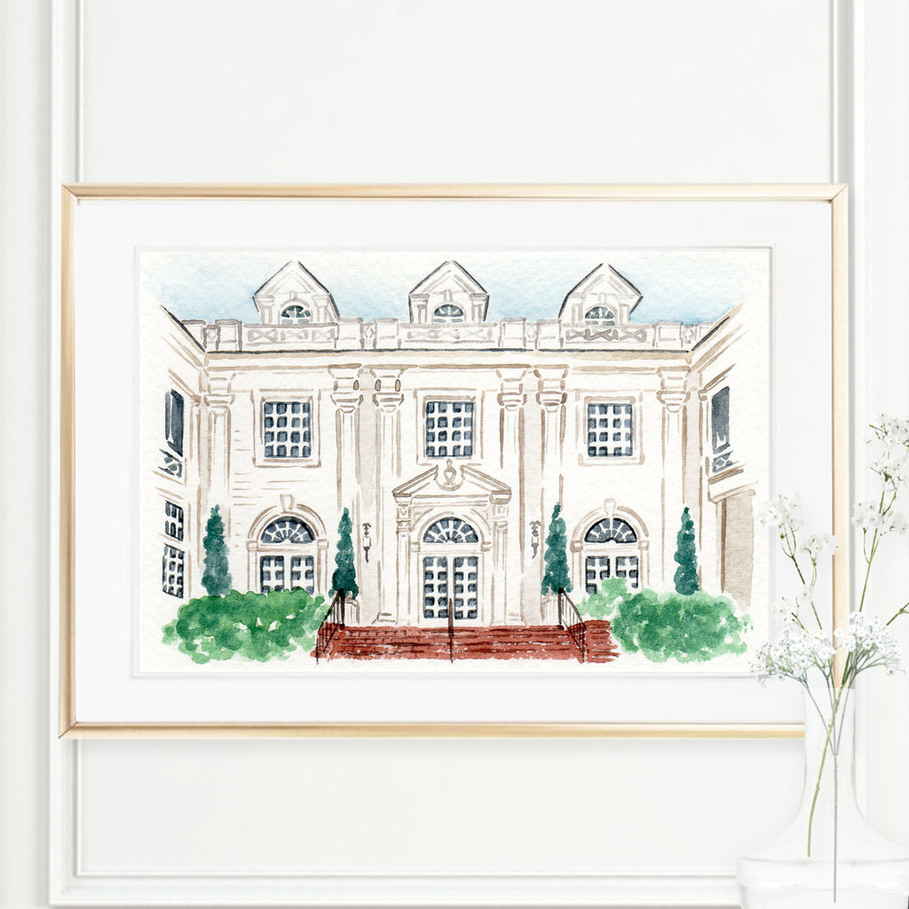 Home or Wedding Venue Painting