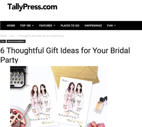 TallyPress first feature
