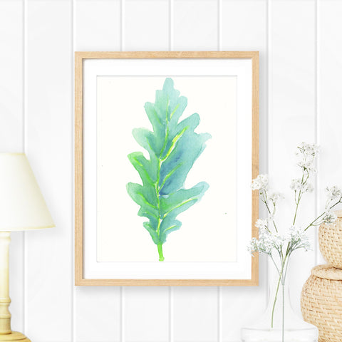 Foliage in Watercolour