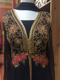 Black Rose Salwar Kameez