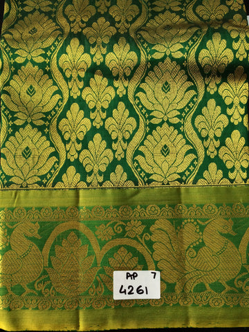 Girls Pattu Lehenga & Blouse Fabric
