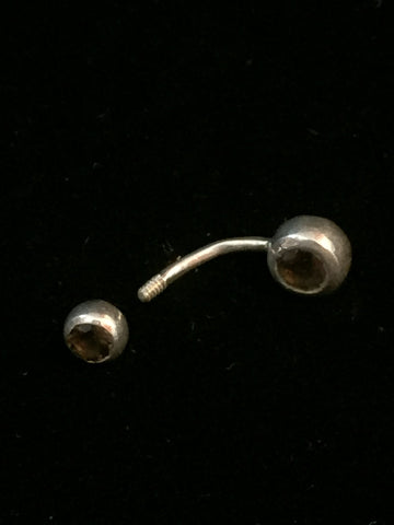 Silver Belly Button Jewelry