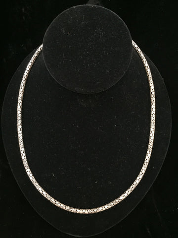 Silver Necklace 36 gms