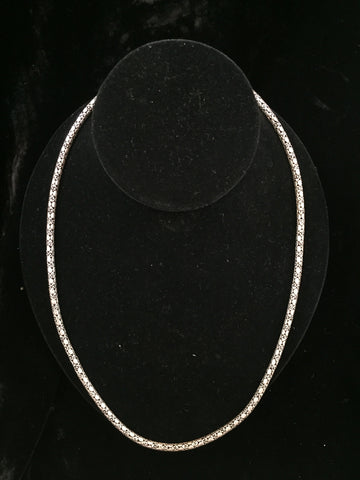 Silver Necklace 38 gms