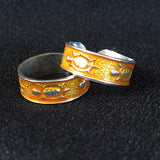 92.5% Silver Toe-Ring Pair