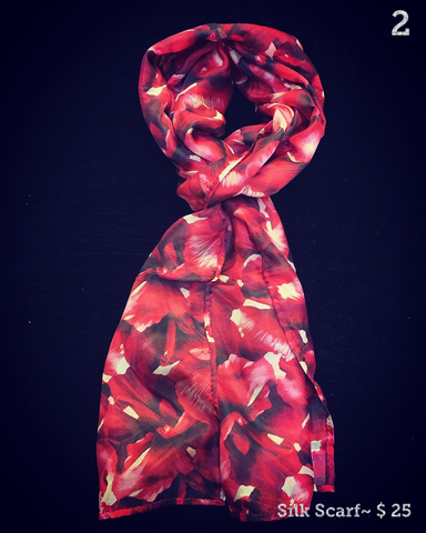 $25 Silk Scarves & Stoles